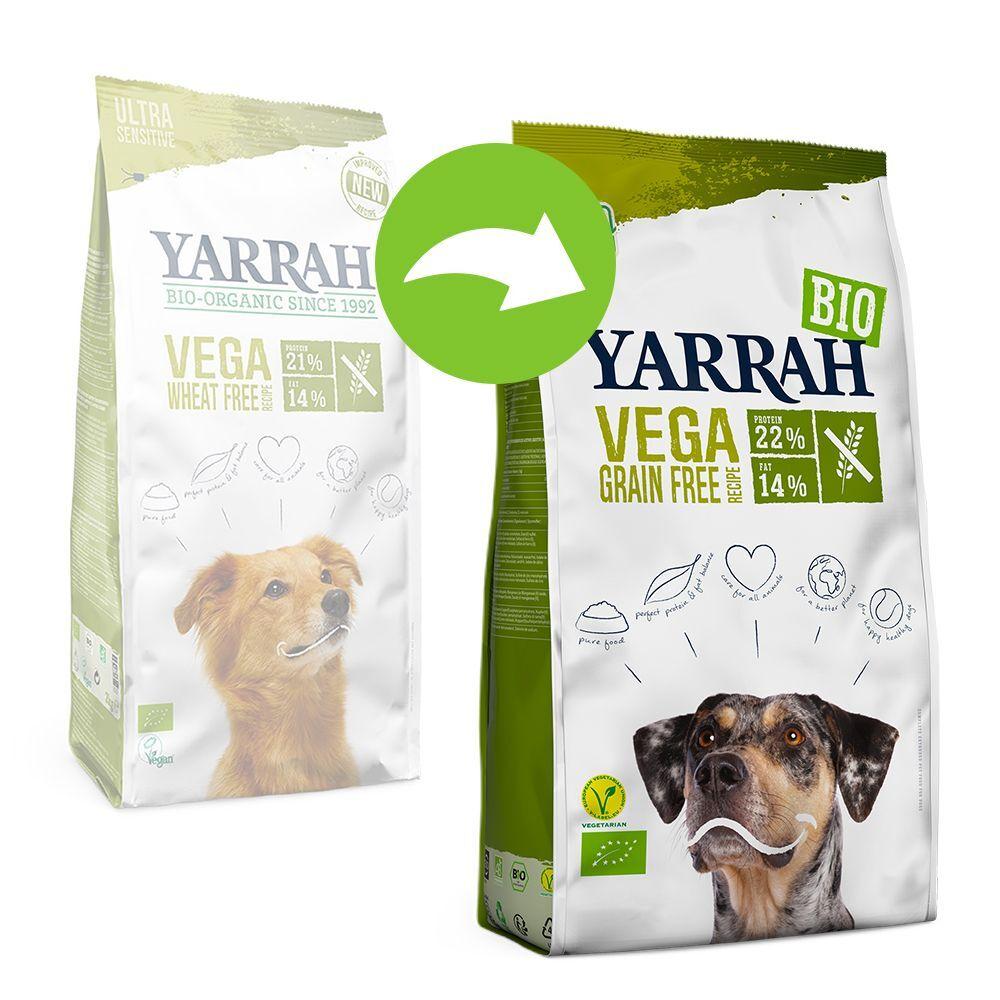 Yarrah 10kg Yarrah Bio Vega sans céréales - Croquettes pour chien