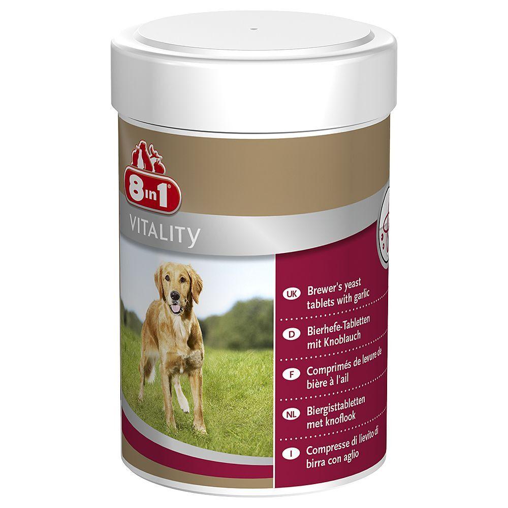 8in1 260 comprimés 8in1 Vitality à la levure de bière - pour chien
