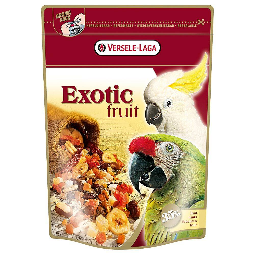 Versele Laga 600g Versele-Laga Exotic Fruit Mélange de fruits pour perroquet
