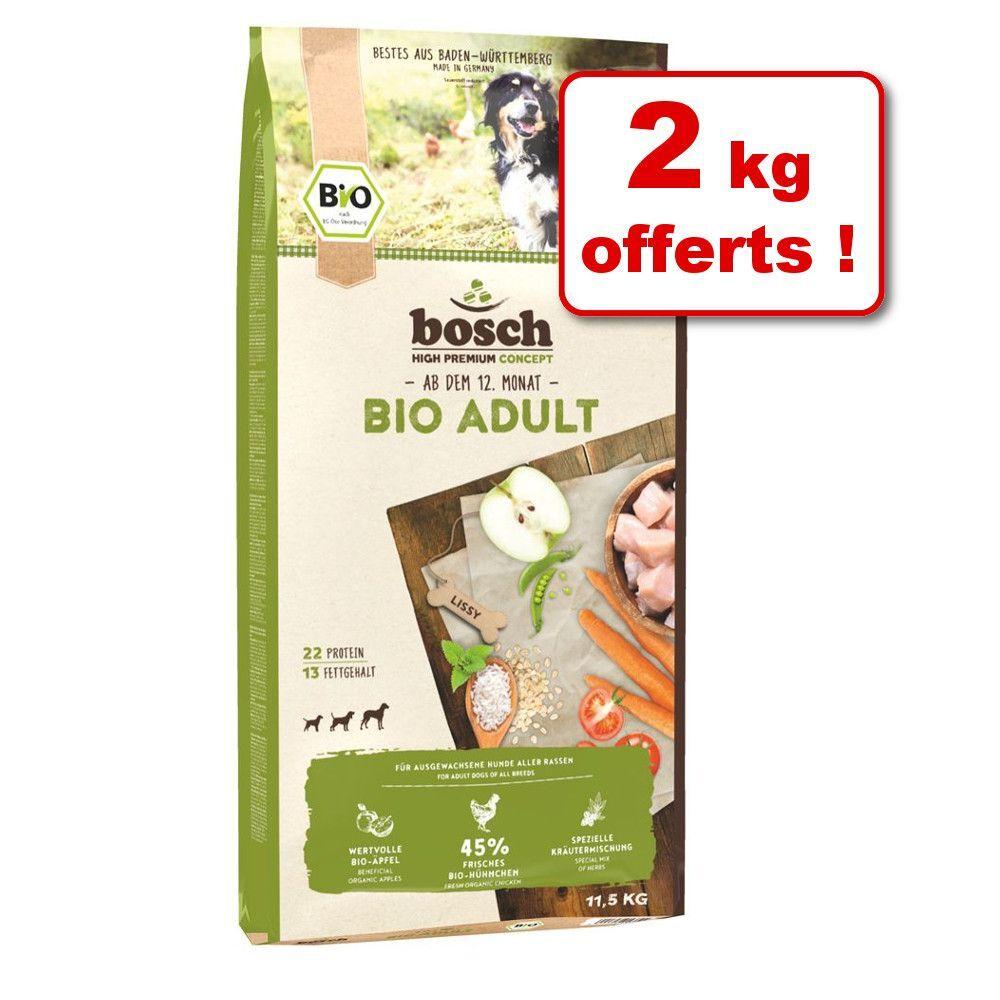 Bosch Natural Organic concept Croquettes bosch Bio 9,5 kg + 2 kg offerts ! - Puppy