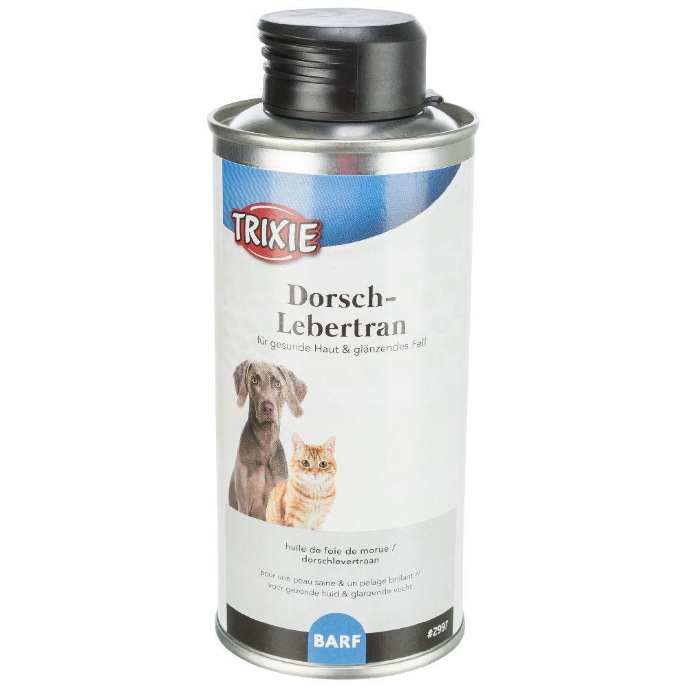 Trixie 2x250mL Huile de foie de morue et de carthame - pour chien
