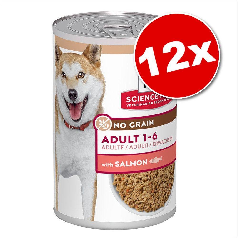 Hill's Science Plan Lot Hill's Science Plan Adult No Grain 12 x 363 g pour chien - poulet