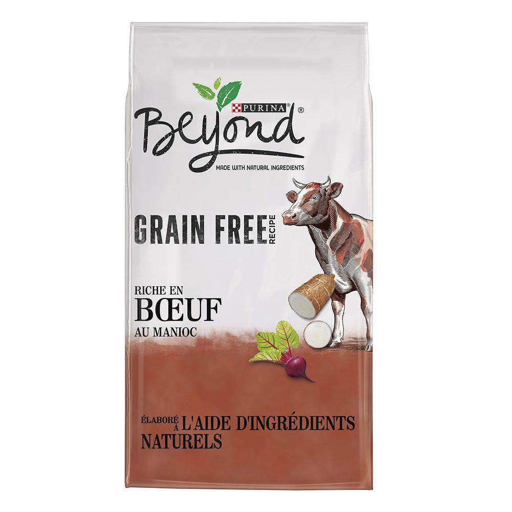 BEYOND 2x7kg Beyond Sans céréales bœuf - Croquettes pour chien