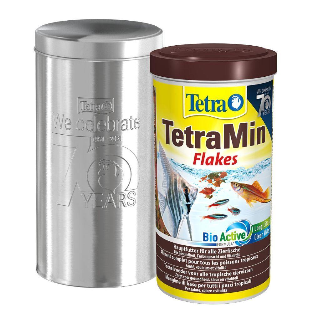 Tetra 1000mL Tetra TetraMin (gros flocons) - Nourriture pour poisson