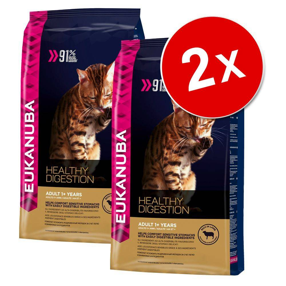 Eukanuba 2x4kg Chaton Eukanuba - Healthy Start Kitten Croquettes pour chat