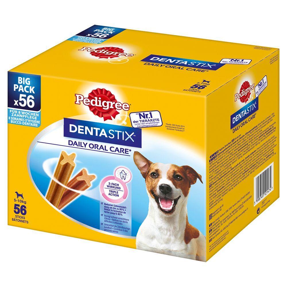 Pedigree 56 x Dentastix Chien moyen Pedigree Friandise pour chien
