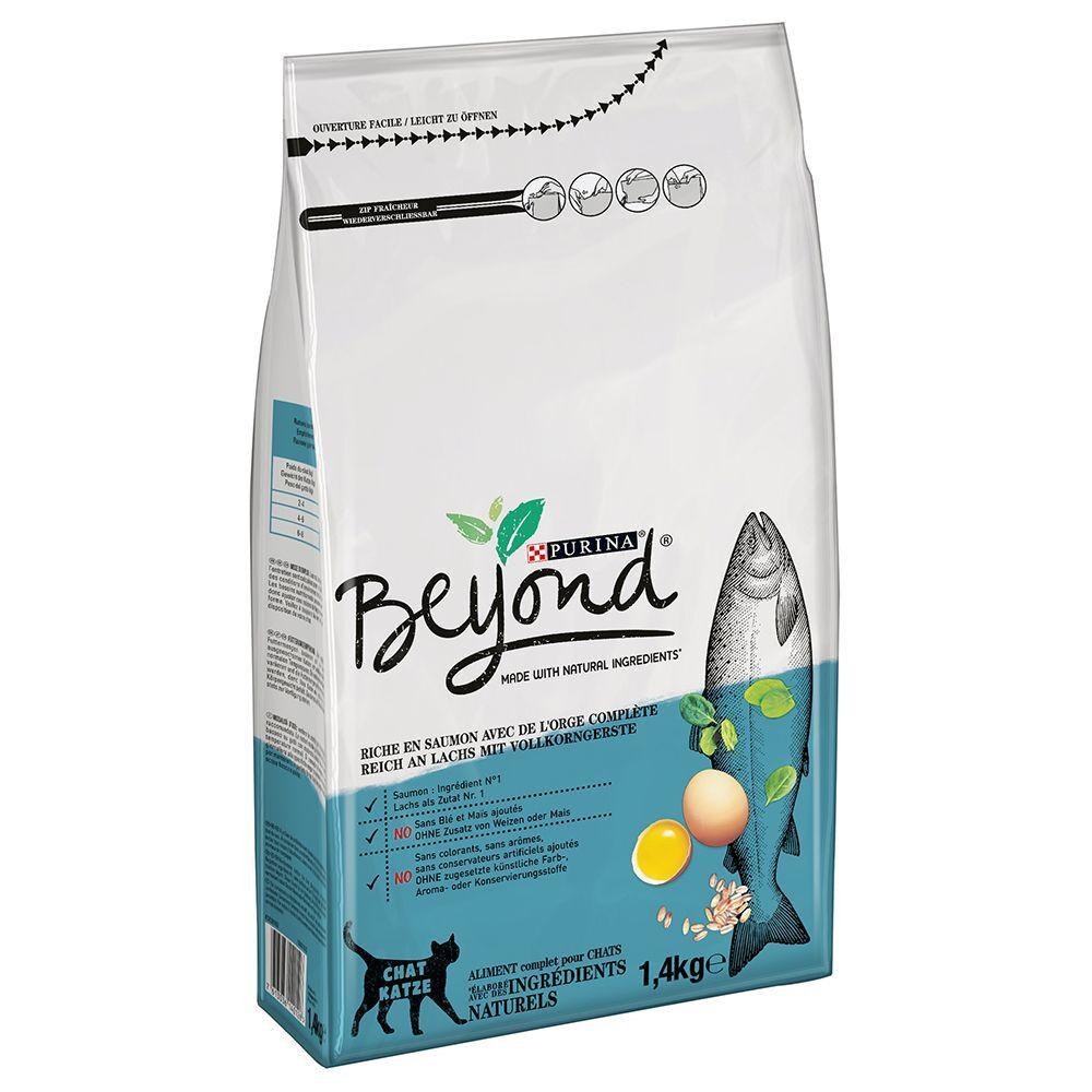 BEYOND 1,4kg Saumon/orge Beyond Croquettes chat