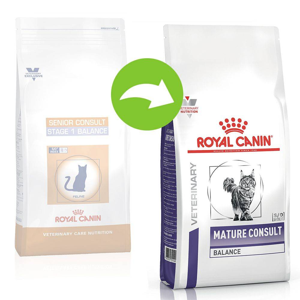 Royal Canin Veterinary Diet 10kg Mature Consult Balance Royal Canin Veterinary Diet - Croquettes pour chat