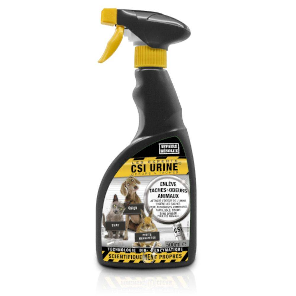 CSI Urine 2x500mL Nettoyant CSI Urine Multi-animaux - pour chat