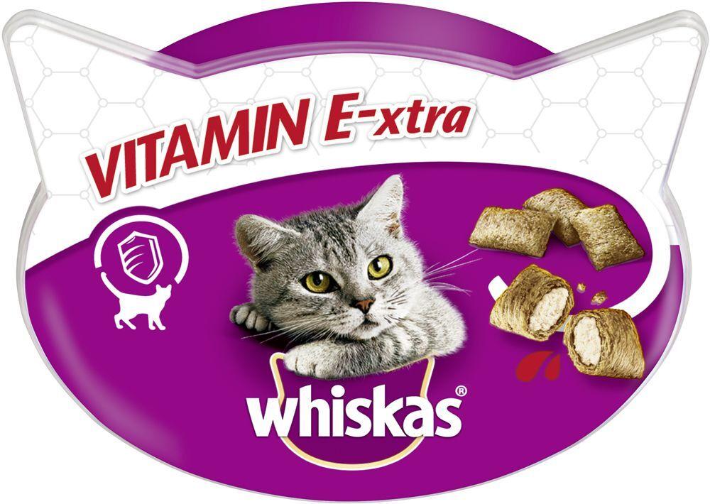 Whiskas 6x50g Whiskas Vitamin E-Xtra Friandises - Friandises pour chat