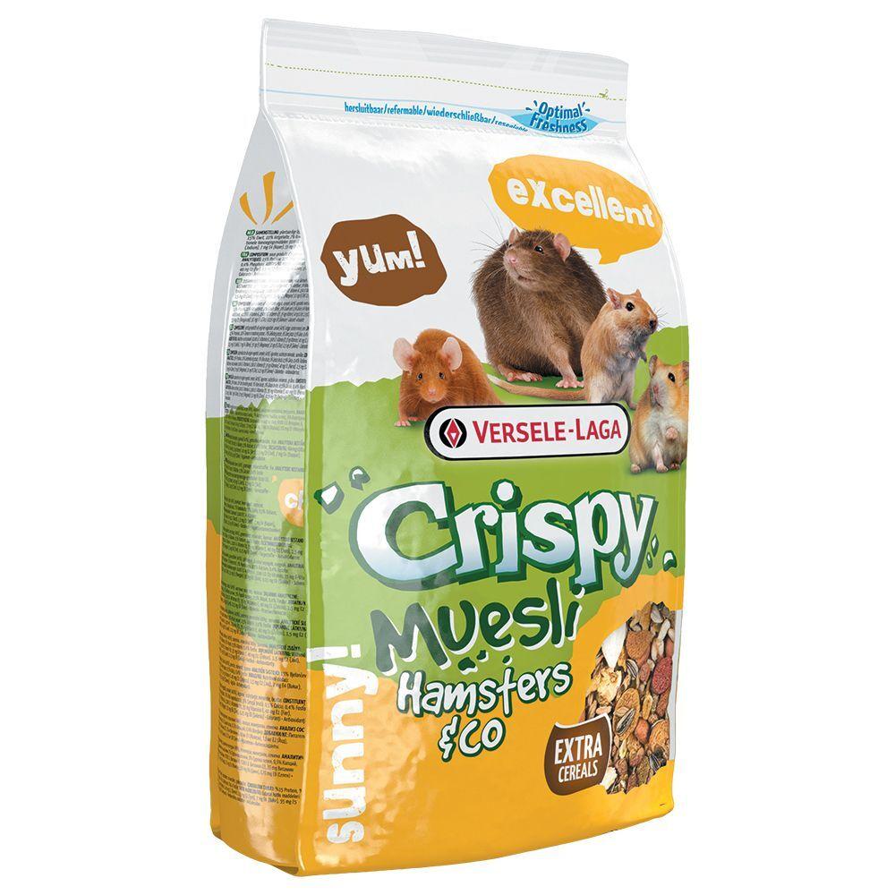 Versele Laga 2,75kg Crispy Müsli Versele-Laga Nourriture pour hamster et autre rongeur