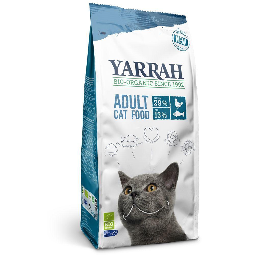 Yarrah 10kg Yarrah bio Poisson Croquettes pour chat