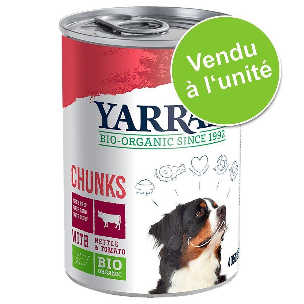 Yarrah 1x380g Yarrah Bio Chunks Vega - Pâtée pour chien