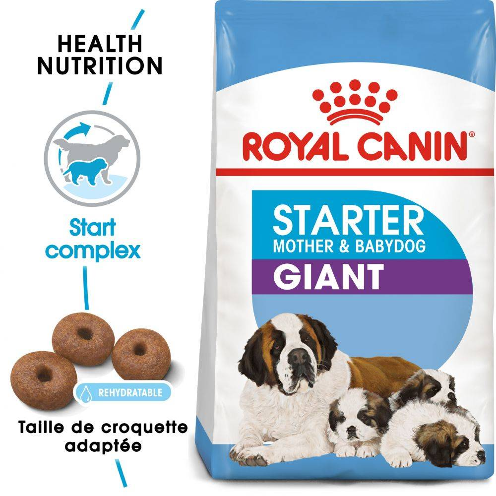 Royal Canin Size 2x15kg Giant Starter Mother & Babydog Royal Canin pour chiot