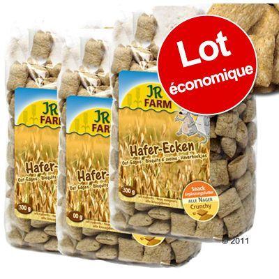 JR Farm 3x300g JR Farm Carrés d'avoine pour rongeur
