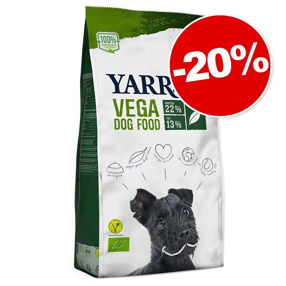Yarrah 10kg Vega sans céréales Yarrah Bio croquettes pour chien