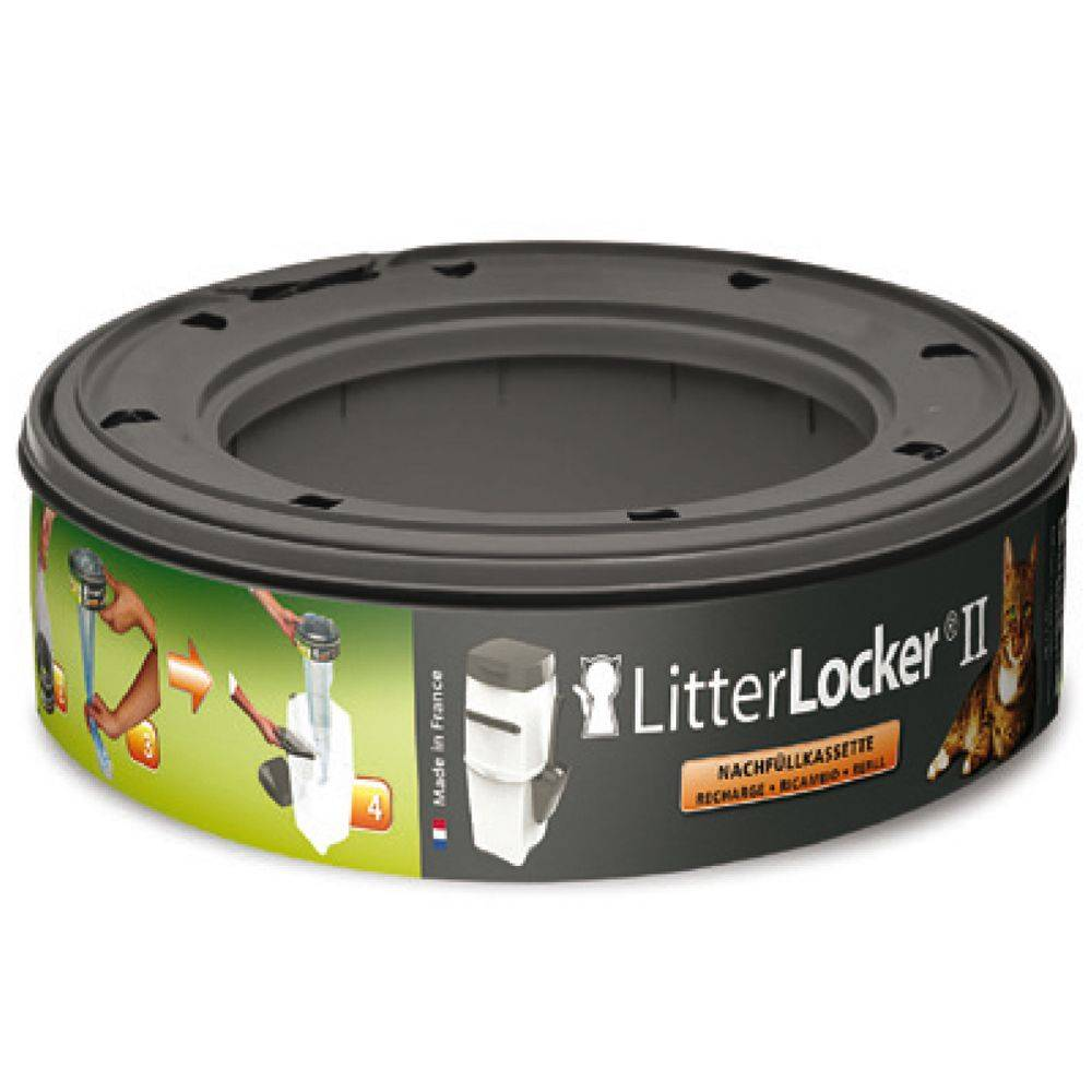 Litter Locker 1 Recharge pour poubelle à litière Litter Locker II
