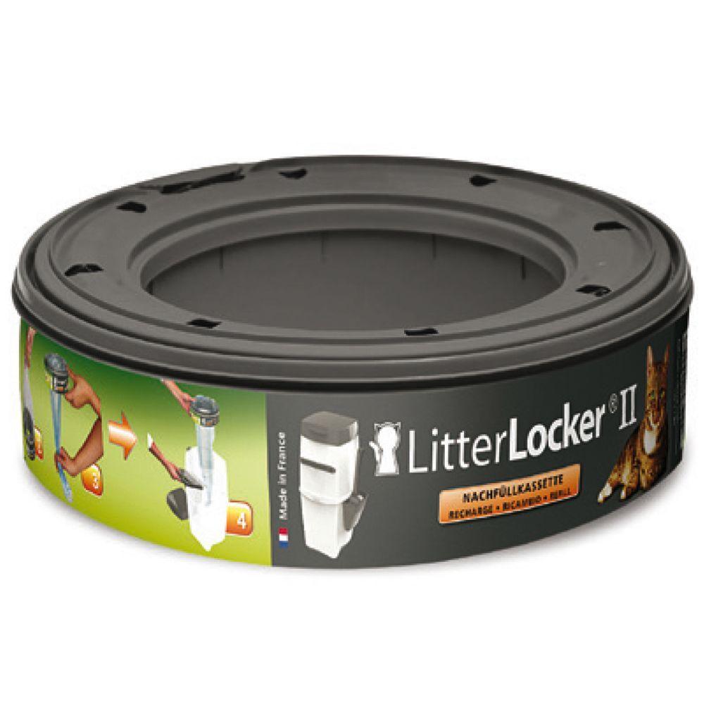 Litter Locker 3x Recharges pour poubelle à litière Litter Locker II