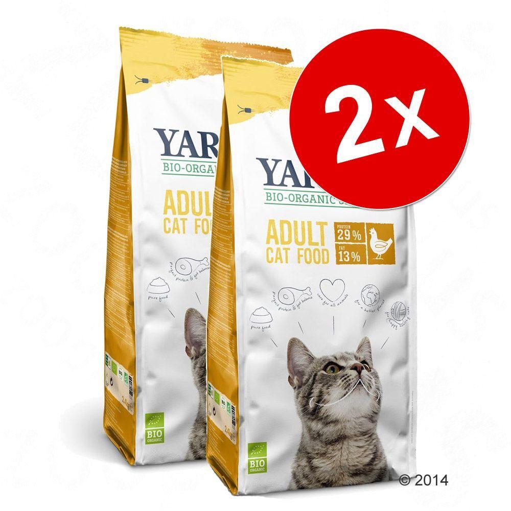 Yarrah 2x10kg poulet Yarrah bio pour chat - Croquettes pour chat
