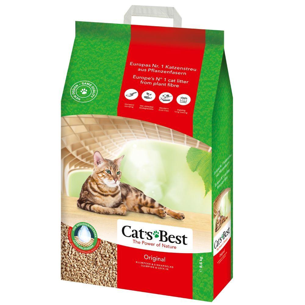 Cat's Best 10L Cat's Best Öko Plus / Original (env. 4,5 kg) Litière pour chat