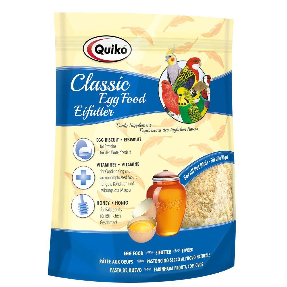 Zooplus 500 g Quiko Complément alimentaire à base d'œuf pour oiseaux - Complément pour oiseau