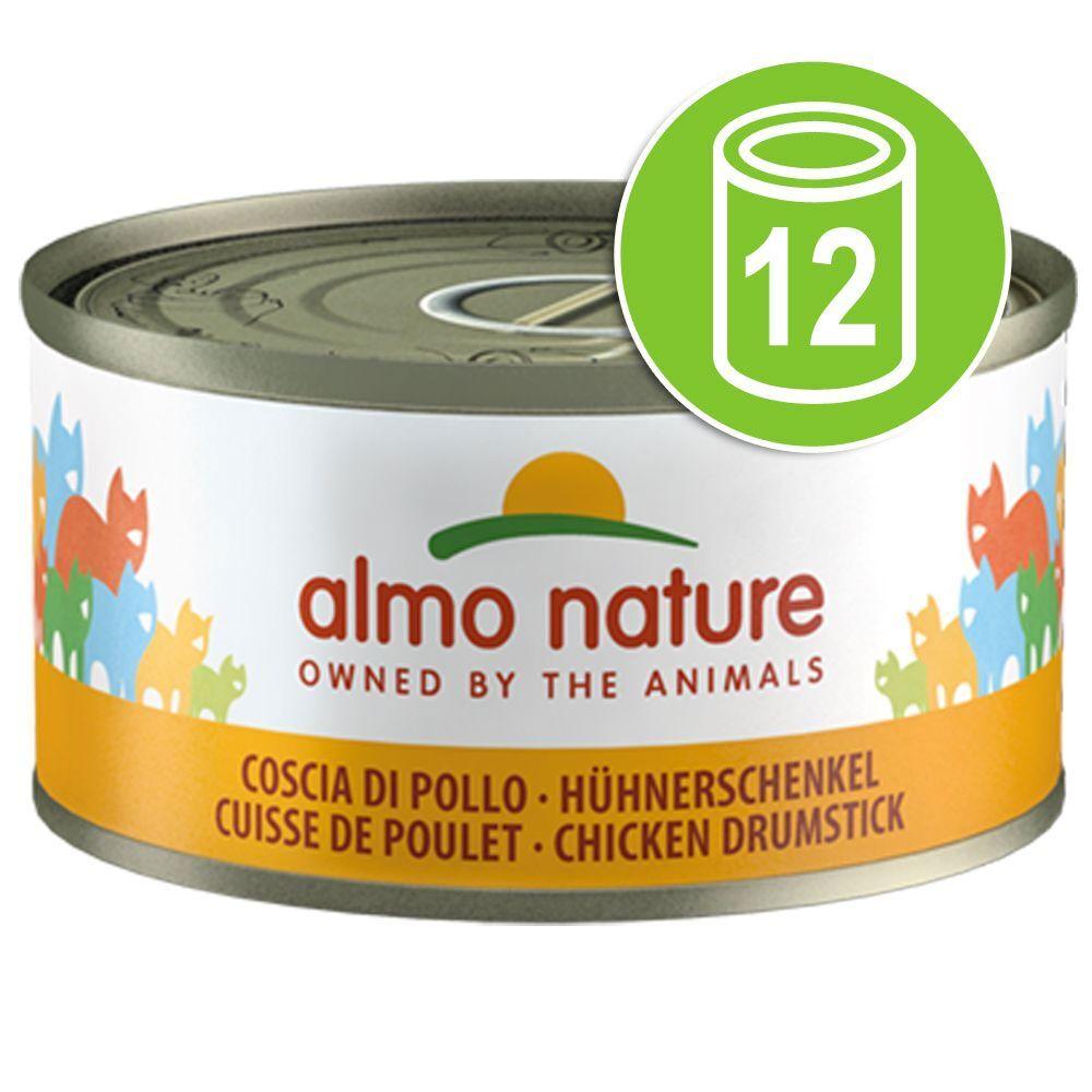 Almo Nature Legend 12x70g au poulet crevettes cuisse potiron Almo Nature Legend - Sachets et Boîtes pour Chat