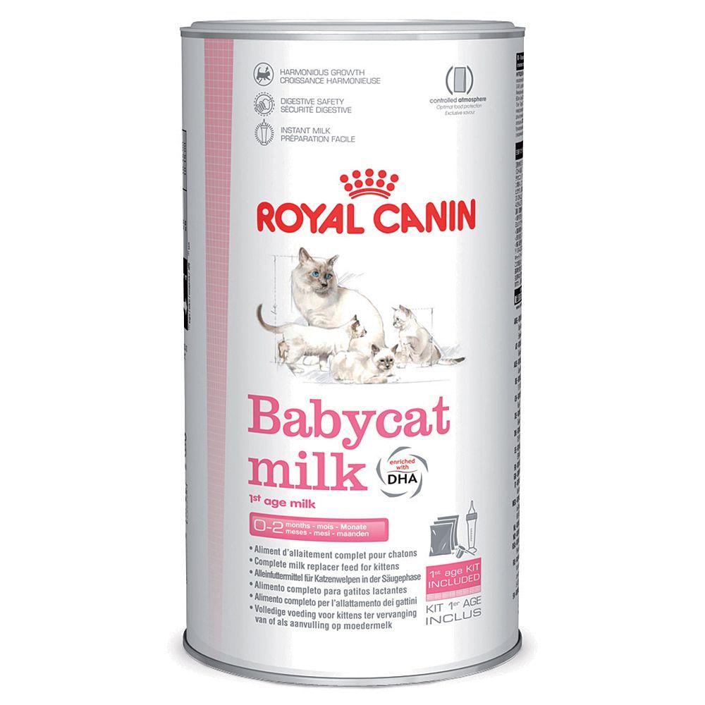 Royal Canin 9x100g Babycat Lait maternisé Royal Canin pour chaton - Lait pour chaton
