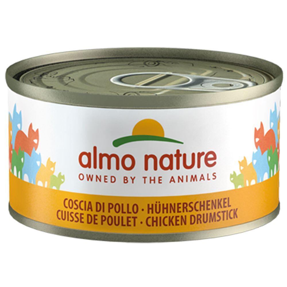 Almo Nature Legend 6x70g Legend saumon, poulet Almo Nature chat - Boîtes pour chat