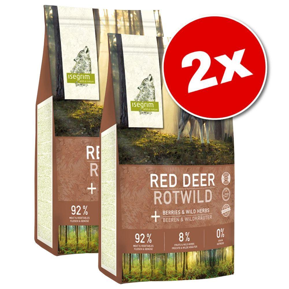 Isegrim 2x12kg Isegrim Junior River saumon - Croquettes pour chien