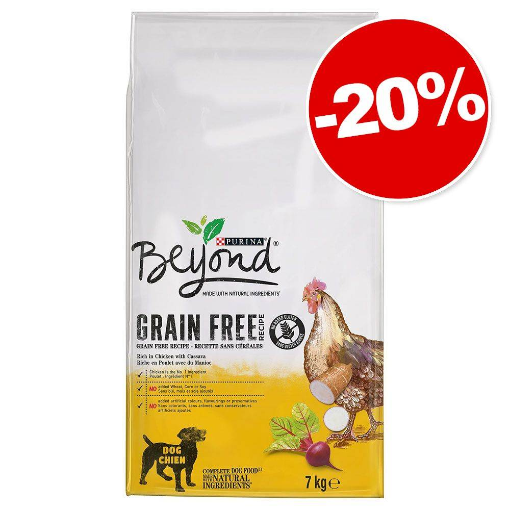 BEYOND 7kg poulet Sans céréales Beyond Croquettes pour chien