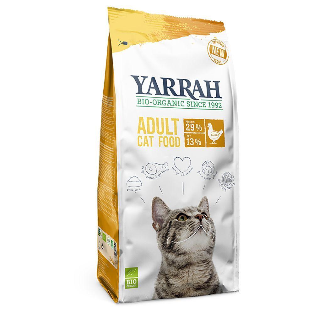 Yarrah 2x10kg Yarrah bio Poulet Croquettes pour chat