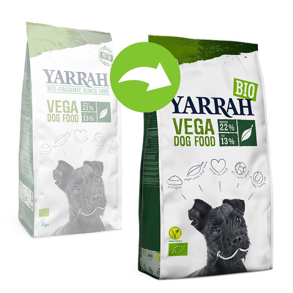 Yarrah 2x10kg Yarrah Bio Vega - Croquettes pour chien