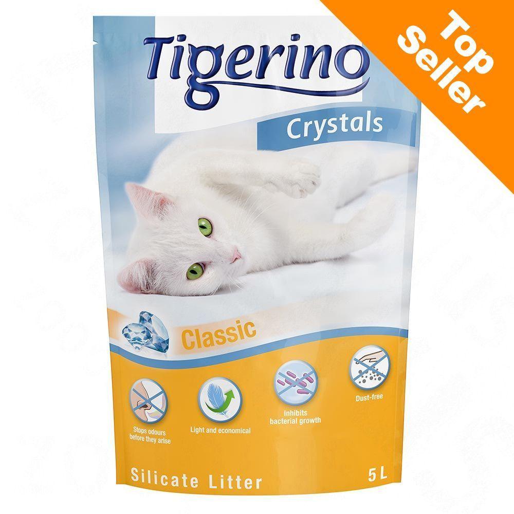 Tigerino 6x5L Crystals Tigerino - Litière pour Chat