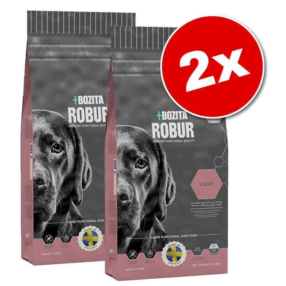 Bozita Robur 2x12 5kg Sensitive Single Protein saumon riz Bozita Robur - Croquettes pour chien