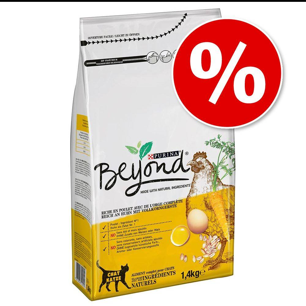 BEYOND 6x1,4kg Boeuf/orge Beyond Croquettes chat