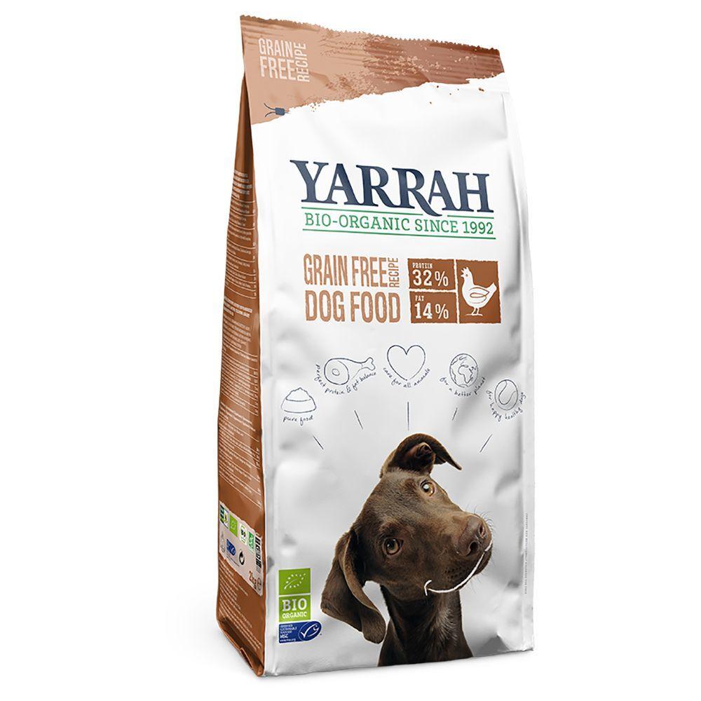 Yarrah 2kg Yarrah Bio poulet, sans céréales - Croquettes pour chien