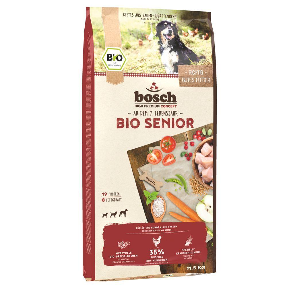 Bosch Natural Organic concept 2x11,5kg bosch Bio Senior - Croquettes pour chien