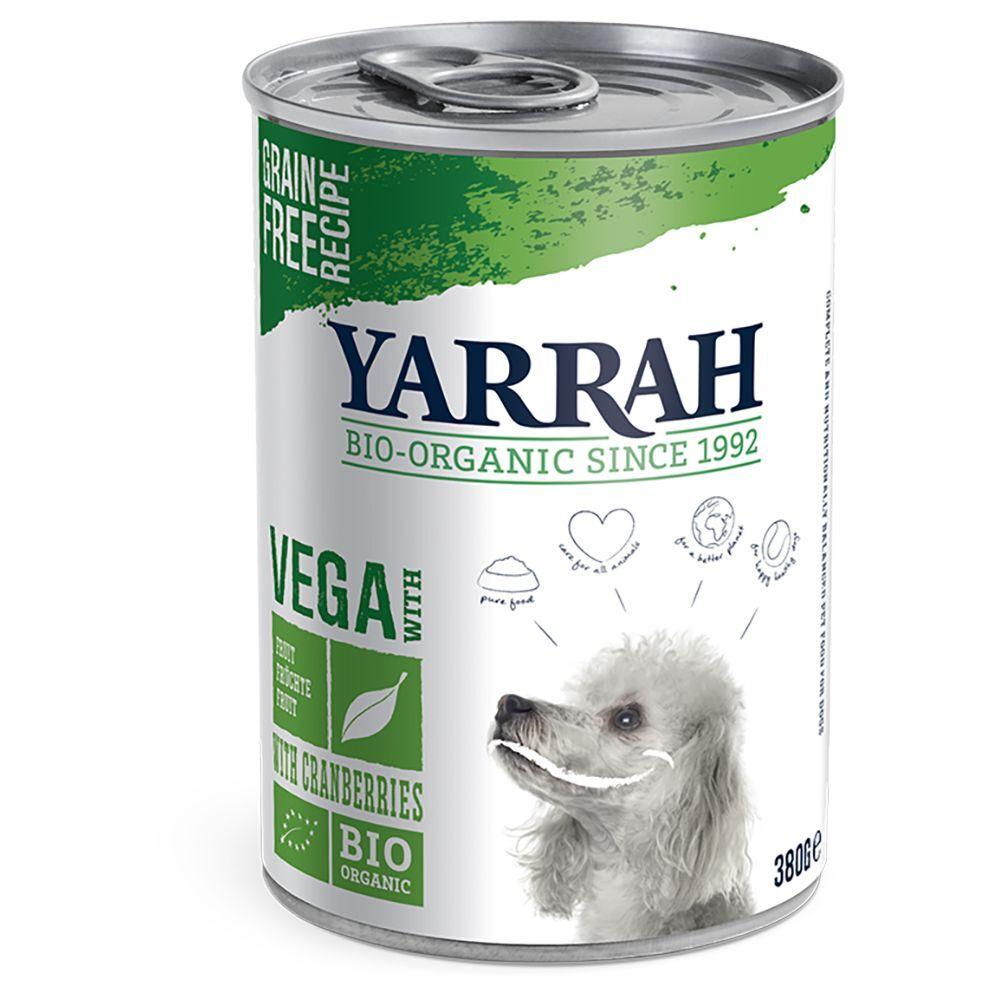Yarrah 6x380g Yarrah Bio Vega - Pâtée pour chien