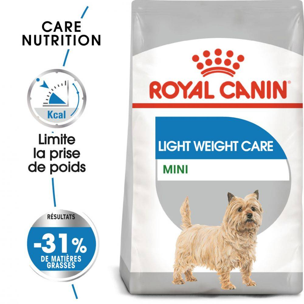 Royal Canin Care Nutrition Royal Canin Mini Light Weight Care pour chien - en complément : sachets Light Weight Care 12 x 85 g