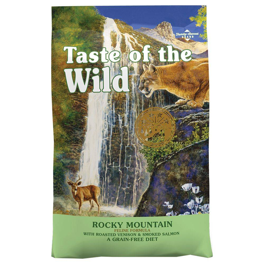 Taste of the Wild 2x6,6kg Rocky Mountain Taste of the Wild - Croquettes pour chat