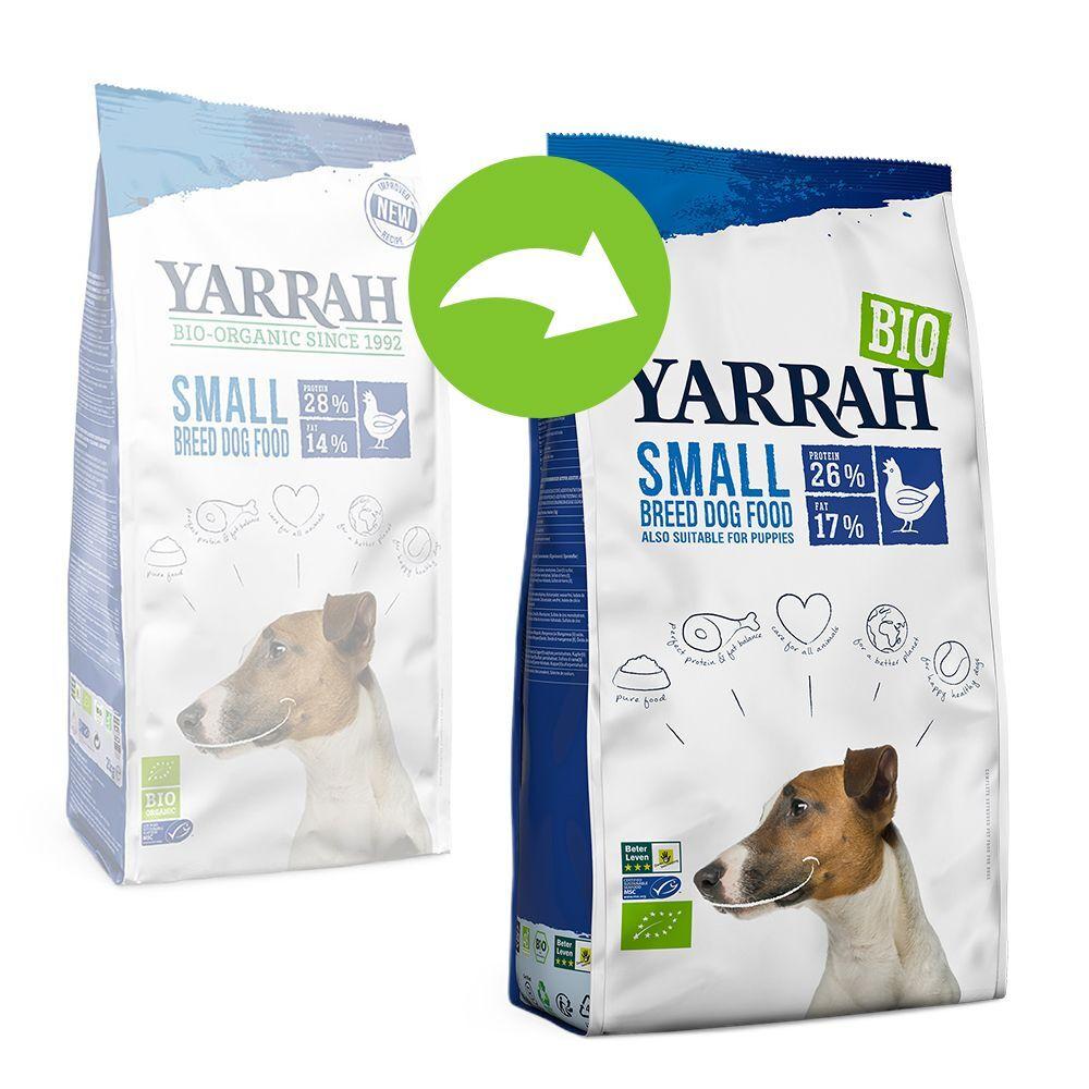 Yarrah 2x5kg Yarrah Bio Small Breed poulet - Croquettes pour chien