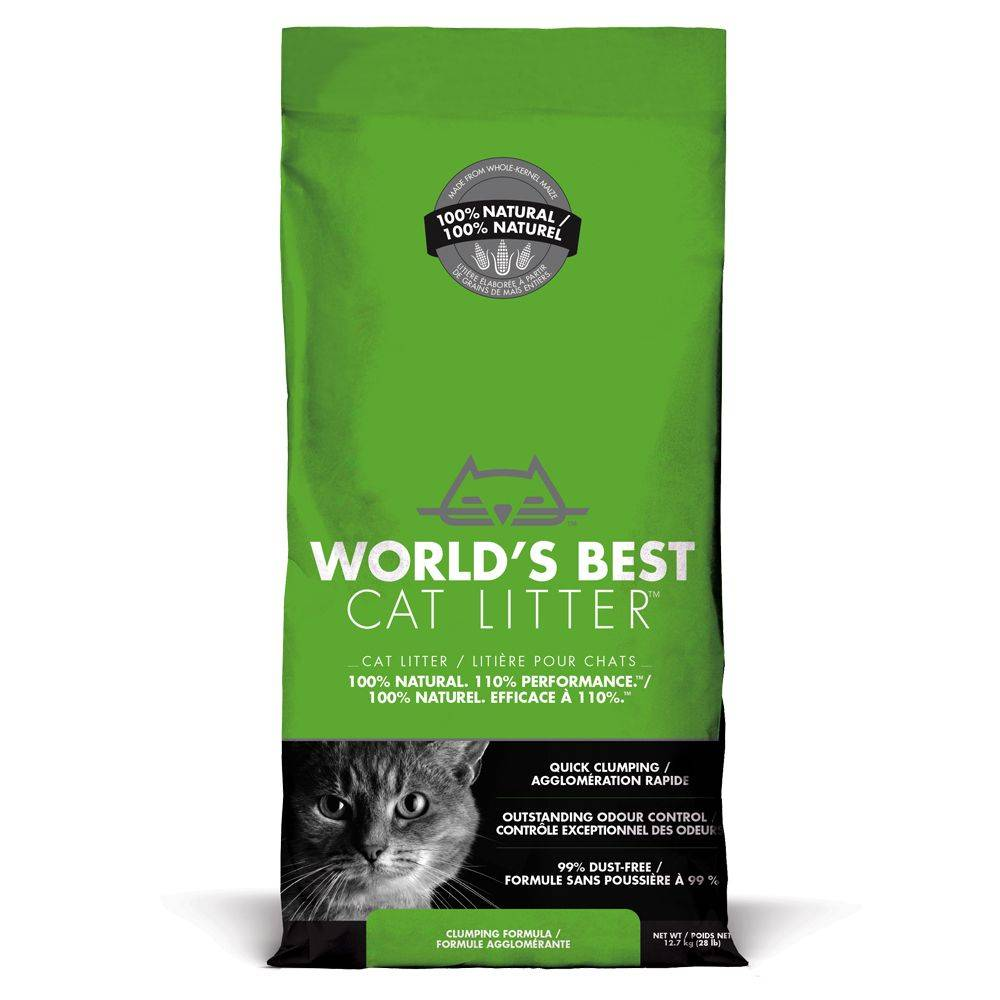World's Best 12,7 kg World's Best Cat Litter Litière pour chat