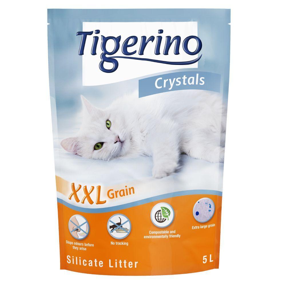 Tigerino 6x5L Litière Tigerino Crystals XXL - pour chat