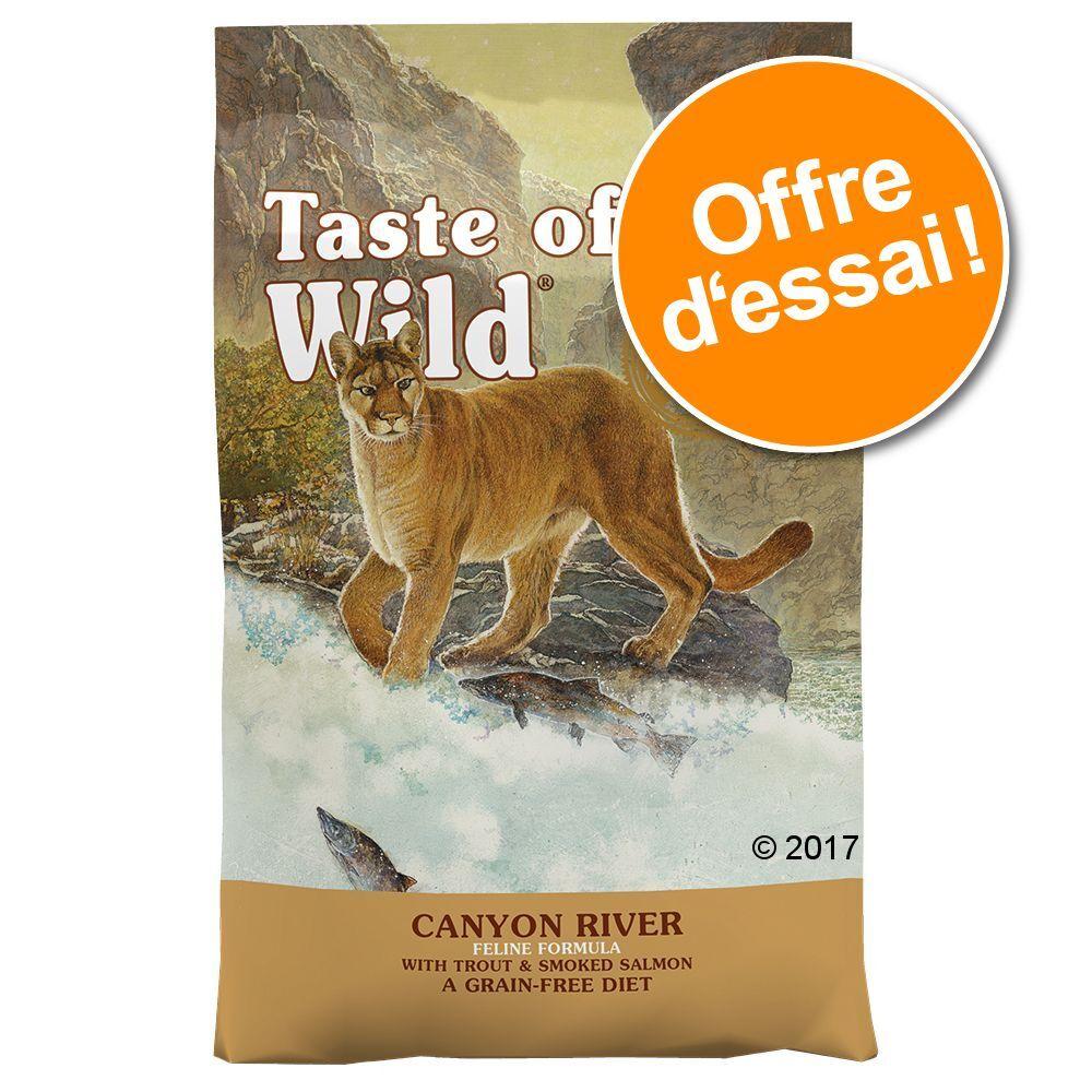 Taste of the Wild 2x2kg Canyon River FelineTaste of the Wild Croquettes