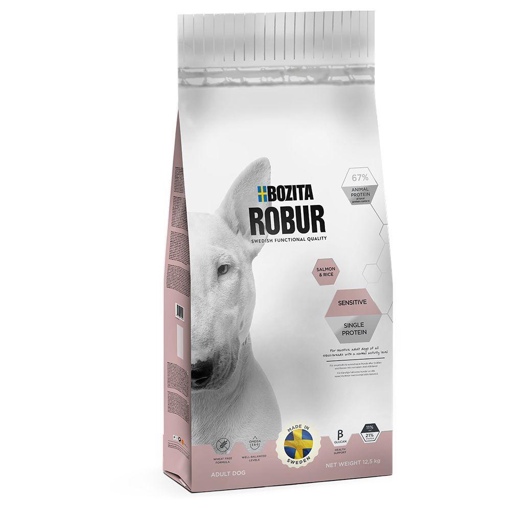 Bozita Robur 12.5kg Sensitive Single Protein saumon riz Bozita Robur - Croquettes pour Chien