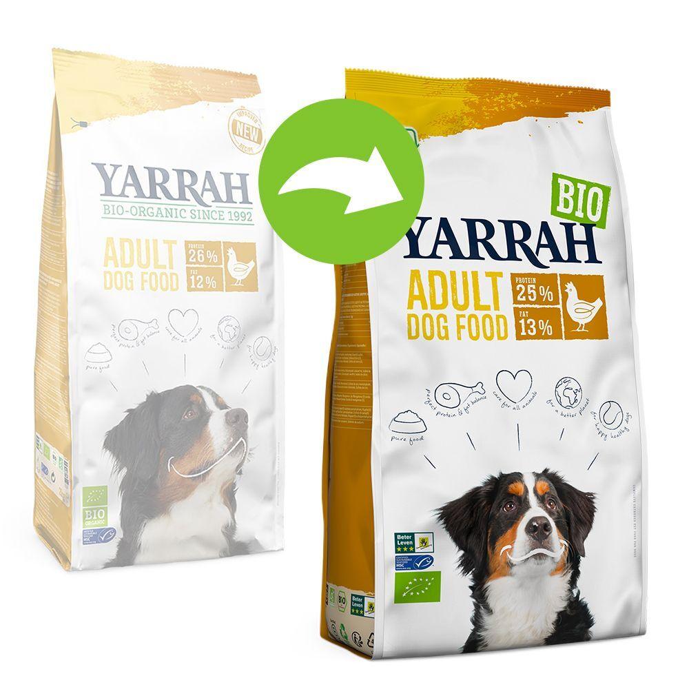 Yarrah 2x15kg Yarrah Bio Adult poulet bio - Croquettes pour chien