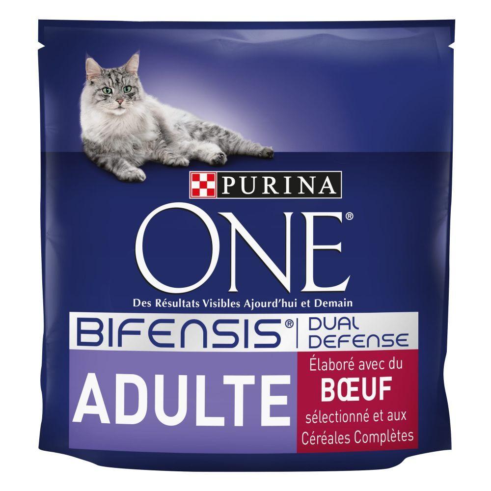 Purina One 2x1,5kg Adulte bœuf + céréales complètes PURINA ONE - Croquettes pour chat
