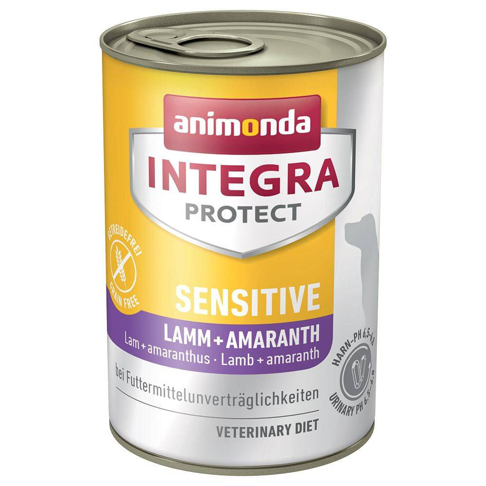 Animonda Integra 6x400g agneau amarante Sensitive Animonda Integra Protect - Aliment pour Chien
