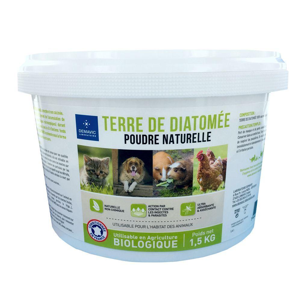 Demavic 2,5kg Terre de diatomée Demavic