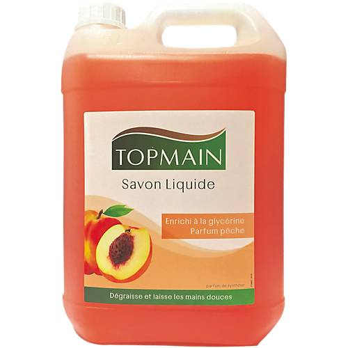 TOPMAIN Savon liquide TOPMAIN 5 Parfum pêche 5 L